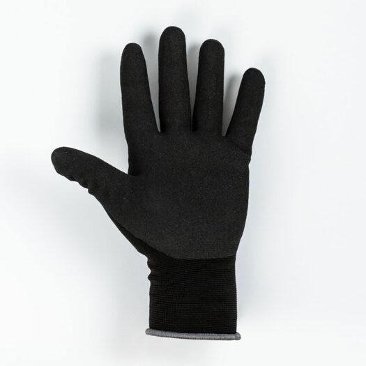 Molotow bescherming handschoenen binnenkant in het zwart/ donkergrijs. Ze geven optimale bescherming en zijn perfect voor het gebruik bij graffiti en streetart, omdat ze de handen beschermen tegen spray paint.