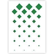 Diamant patroon sjabloon stencil