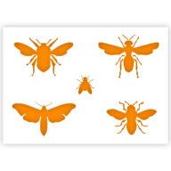 insecten sjabloon stencil