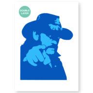 Lemmy stencil, idool sjabloon