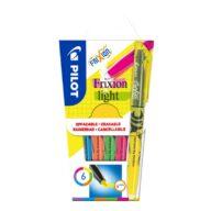 Pilot Textmarker Frixion Light 6 Stuks