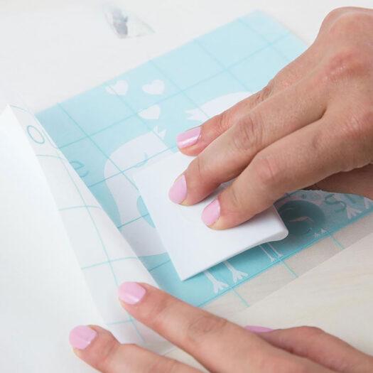 silhouette scraper tool voor snijmatten te gebruiken bij sjablonen maken en stencil art