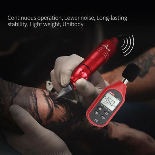 dragonhawk atom rotary tattoo pen tattoo machine voor tattoo sleeve, tattoo hand, tattoo tribal, tattoo letters, tattoo cover up, tattoo onderarm, tattoo arm, tattoo pols, tattoo enkel, tattoo been en alle soort tatoeages.