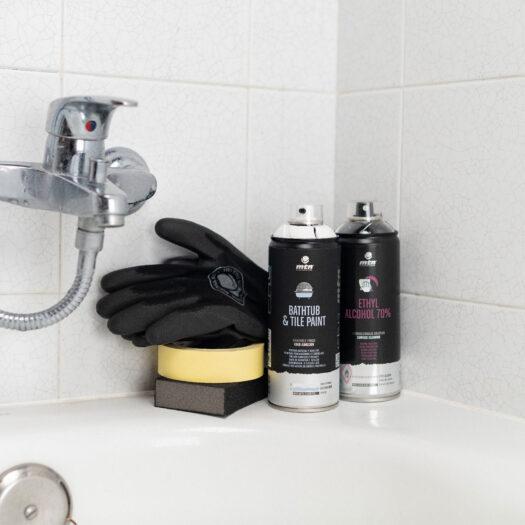 MTN PRO Bathtub & Tile Paint White badkamer en tegel spray paint