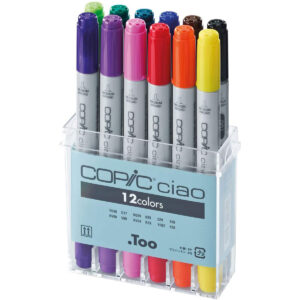 copic ciao markers set 12 kleuren